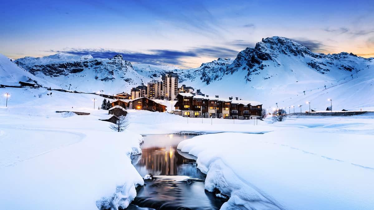 Klimatabelle Tignes – Schneesicher • Beste Reisezeit • Wetter